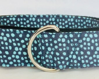 "Pebble Rock Martingale Dog Collar - 1.5"" or 2"" -"