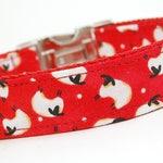 Custom Handmade Dog Collar - Herd you Need a Collar -Sheep Dog Collar - Border Collie Collar - Australian Shepherd Collar