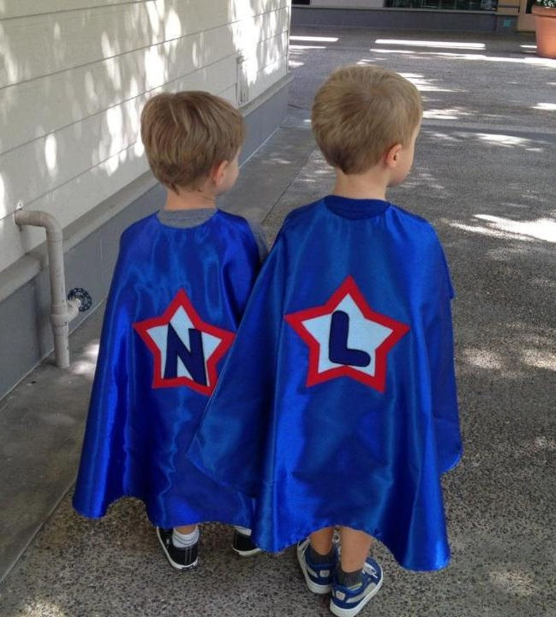 Super Hero Capes /Reversible Capes / Superman Cape / Custom Capes /  Personalized Capes / Girls / Boys