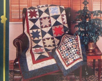 Gemini Star Quilts Large and Small Sizes Special Treasures Quilt Pattern 15 UNUSED