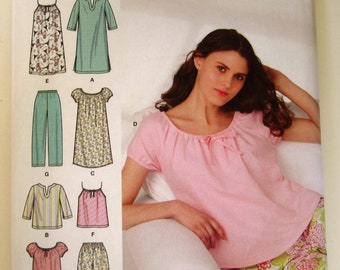 Simplicity pattern nightgown  59b6b064c