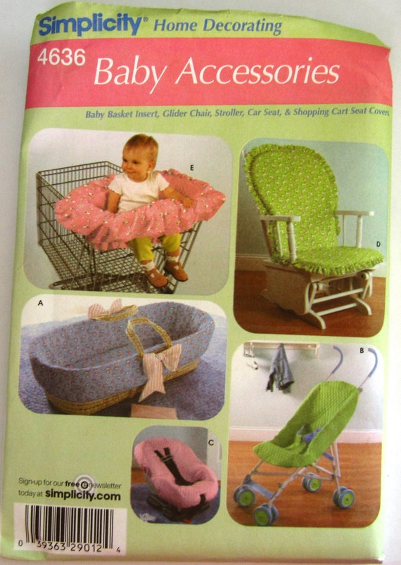 Baby Korb-Einsatz Baby Accessoires Einfachheit Muster 4636