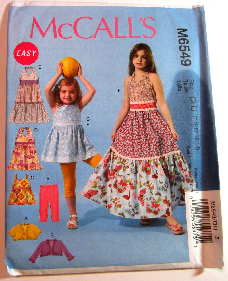 f773841adb34 Easy Sew Girls Summer Dresses Leggings Top Unlined Jackets