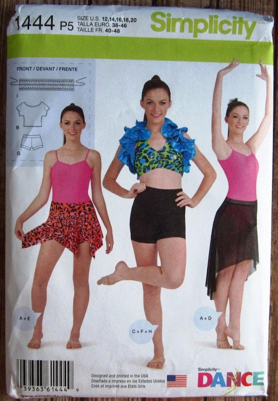 Misses Knit Dancewear Leotard Cropped Top Halter Bra