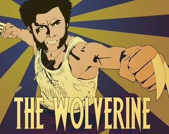 Wolverine print