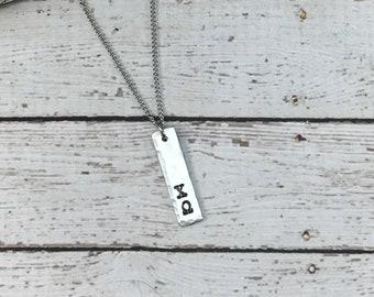 Chi Omega Greek Letter Necklace, Sorority Necklace, Greek Jewelry, Sorority sister jewelry, Big Sister little sister Jewelry