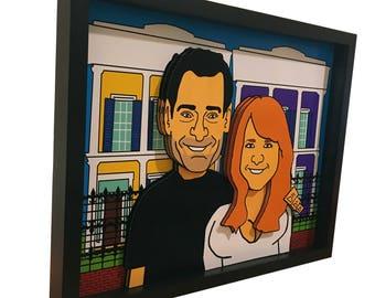 couple pop art etsy