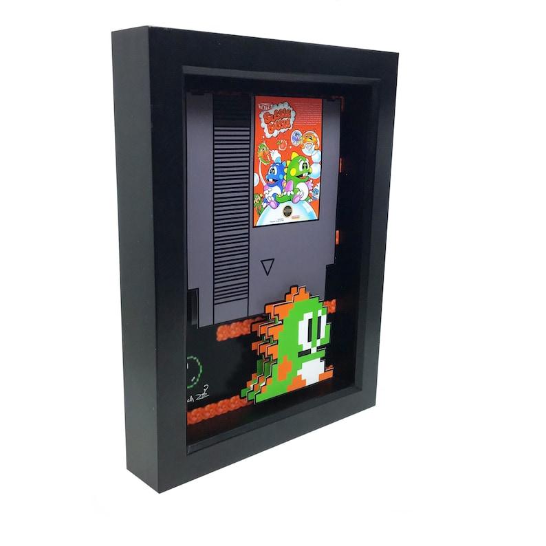Bubble Bobble Art Nintendo Art Nintendo Decor Video Game 3D image 0