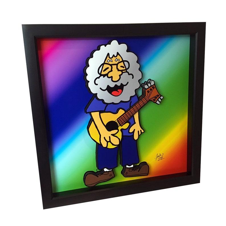 Jerry Garcia Art Prints Grateful Dead Art Grateful Dead Poster image 0