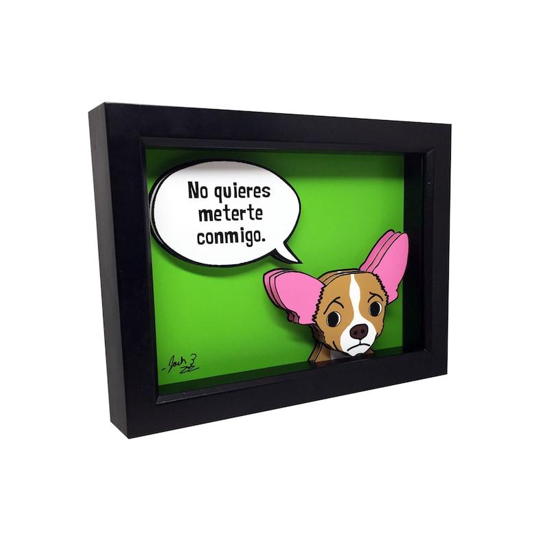 Chihuahua Art Prints Chihuahua Gifts 3D Art Chihuahua Dog Art image 0