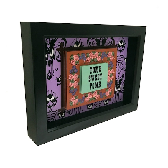 Disney Haunted Mansion Papier Peint Impression Dart 3d Art Etsy