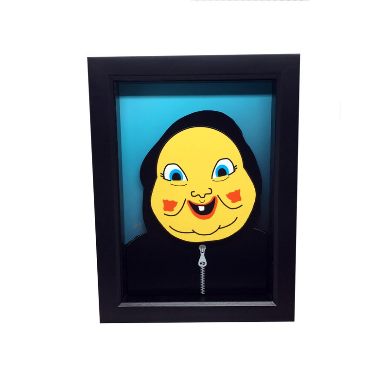 Happy Death Day Mask Horror Decor 3D Art Horror Collectible image 0