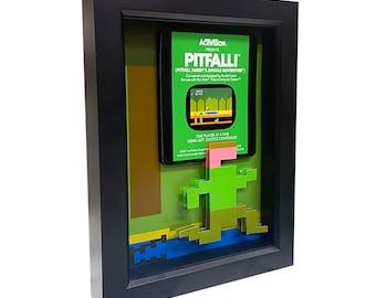 Atari Pitfall Harry 3D Art Atari 2600 Game Art Atari Video Game Art Retro Video Game Print Atari Art Pitfall! Retro Video Game Decor Gamer