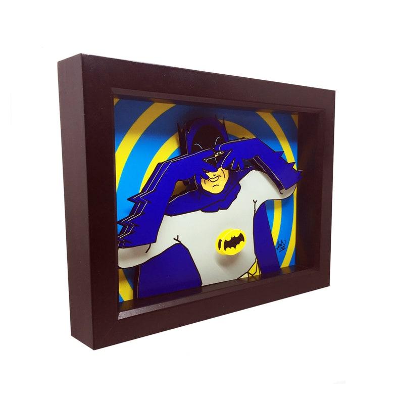 Batman 1966 Art Batman 1966 TV Show Poster Batman Art Print image 0