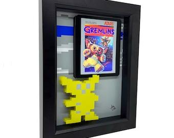 Atari 2600 Game Art Atari Gremlins Video Game Art Retro Video Game Print 3D Art Gremlins Art Gizmo Print Gremlins Print Atari Art Gizmo Art