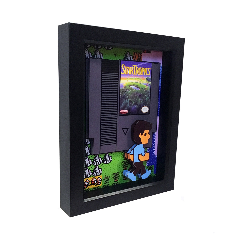 Mega Man 3 Shadow Box Video Game Decor Video Game 3D Print Video Game Decor Video Game Art Print Video Game Wall Art Mega Man Poster 3D Art