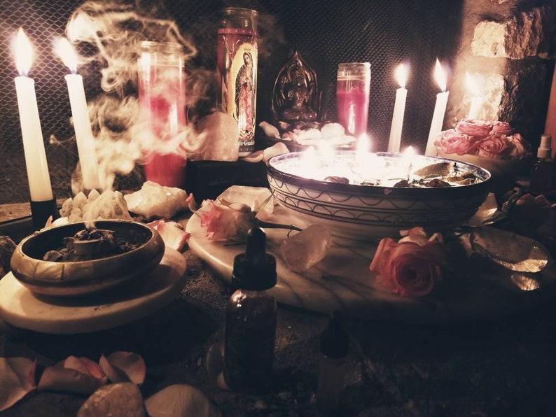 Gratitude and Abundance Service Reservation New Moon Ritual image 0