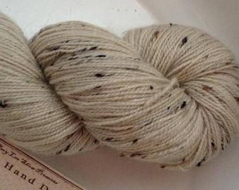 Naked Robert ... Canon Hand Dyes Robert BFL Tweed  Sock Yarn