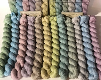 Diamonds Are a Girls Best Friend Shawl Kit Pre-Order... Canon Hand Dyes Yarn