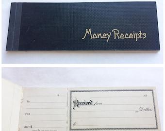 Ca 1900 Antique Receipt Book Pad Unused