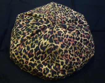 American Girl Doll Bean Bag Chair   Leopard Print   18 Inch Doll, Black,  Tan, Brown, Burgunday