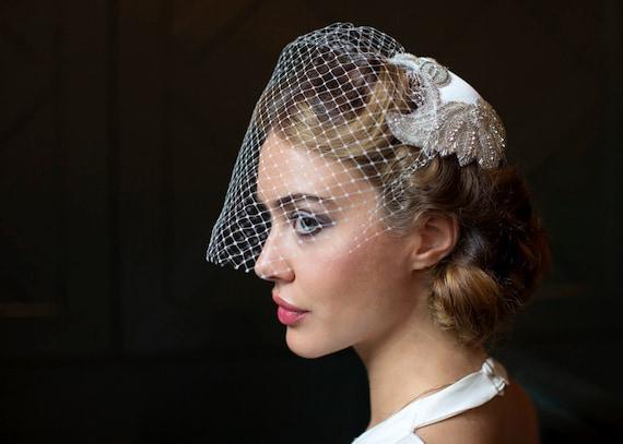 1940s Bridal Headpieces