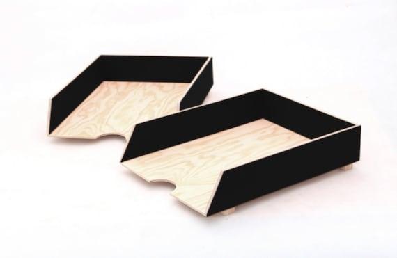 Organisateur de bureau black set accessoires de bureau bureau noir