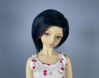 """8/9 Navy BJD Wig 