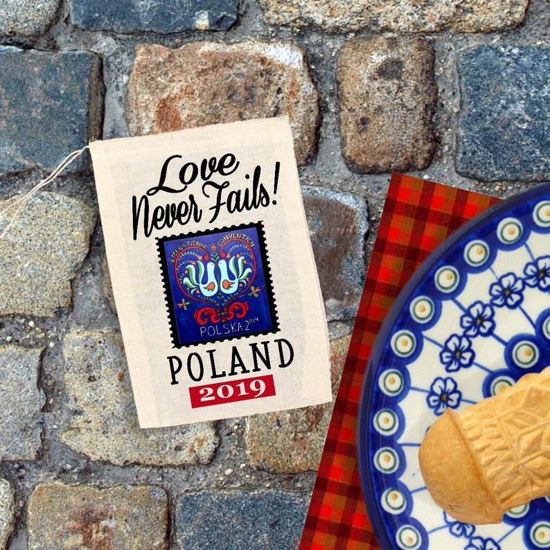 JW Gift Bags - POLAND International Convention JW 2019 Convention Bags -  3x5 4x6 5x7