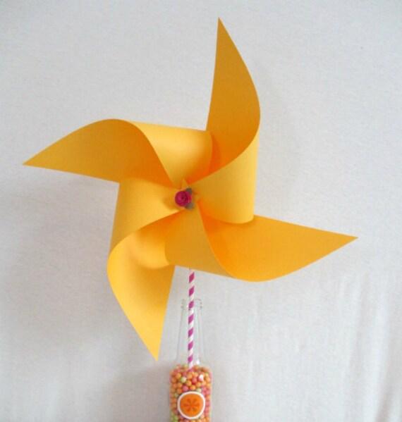 Wedding Decoration Yellow Pinwheel Birthday Decorations Baby Shower