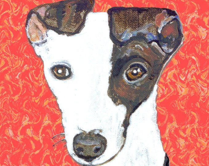 Greyhound Print Poster