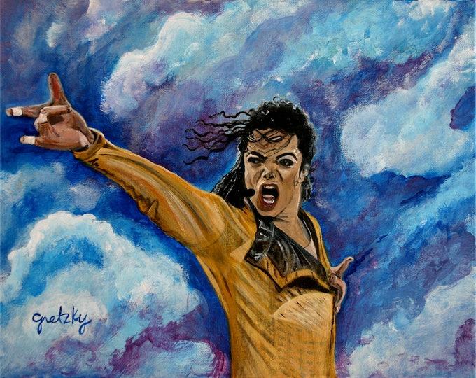 Michael Jackson Print Poster