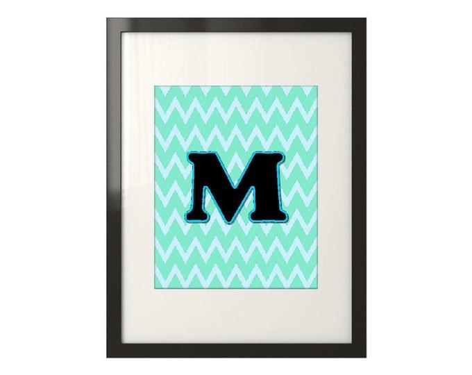 Framed Monogram Print