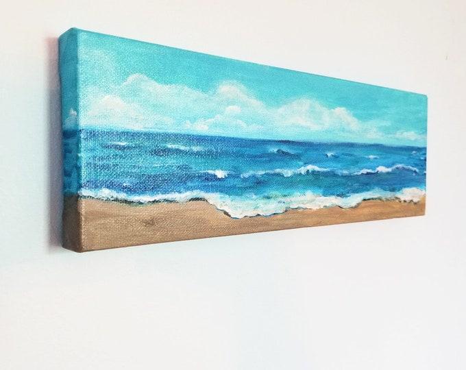 Beautiful Ocean Original Acrylic Painting