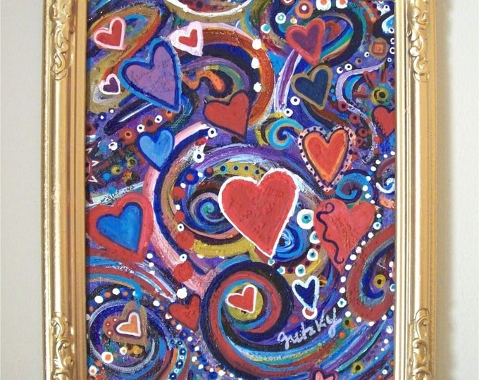 Fluttering Hearts  Free Shipping USA