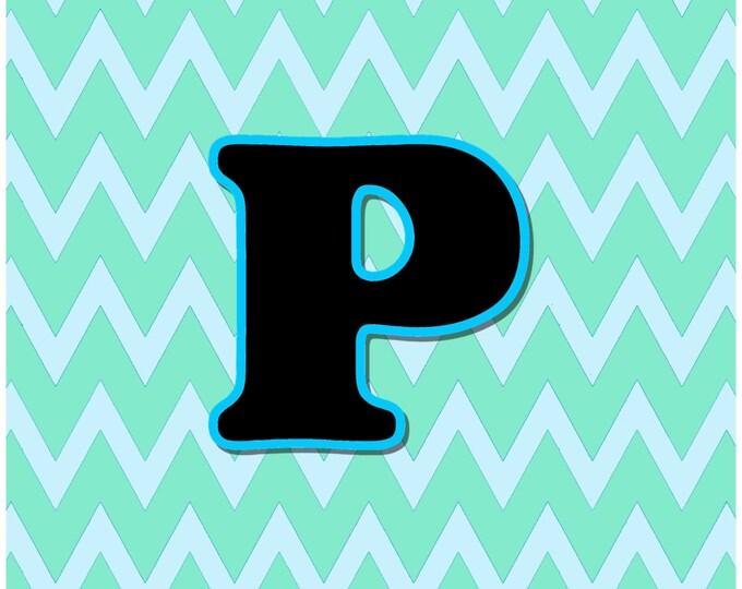 Letter P Digital Download