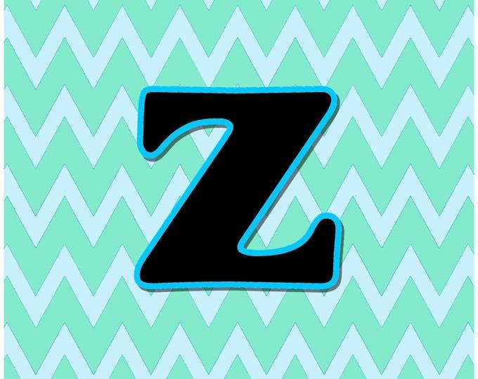 Letter Z Digital Download