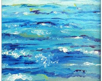 Ocean Abstract Print