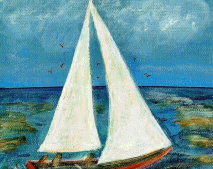 A day at Sea Print