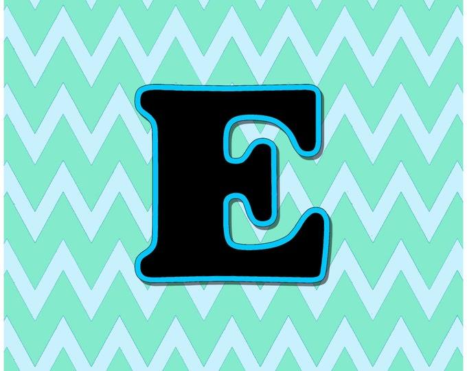 Letter E Digital Download