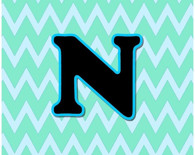 Letter N Digital Download