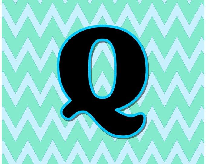 Letter Q Digital Download