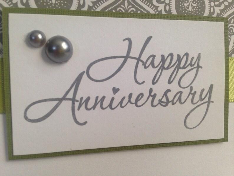 Fancy Elegant Anniversary card