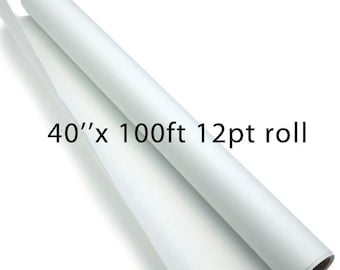 Sale -12pt -40''x100ft roll  - 50% off of 440.00