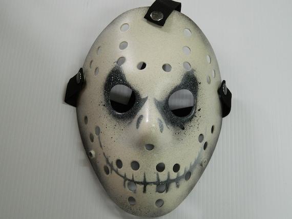 Jason Hockey Mask Face Insert Friday the 13th HALLOWEEN HORROR MOVIE PROP