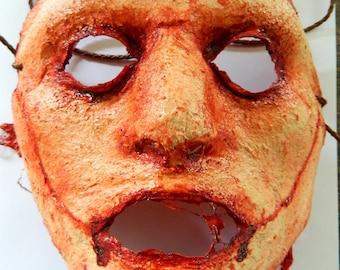 Halloween Horror Mask - Bloody Latex Flesh Mask 2 - Hand made