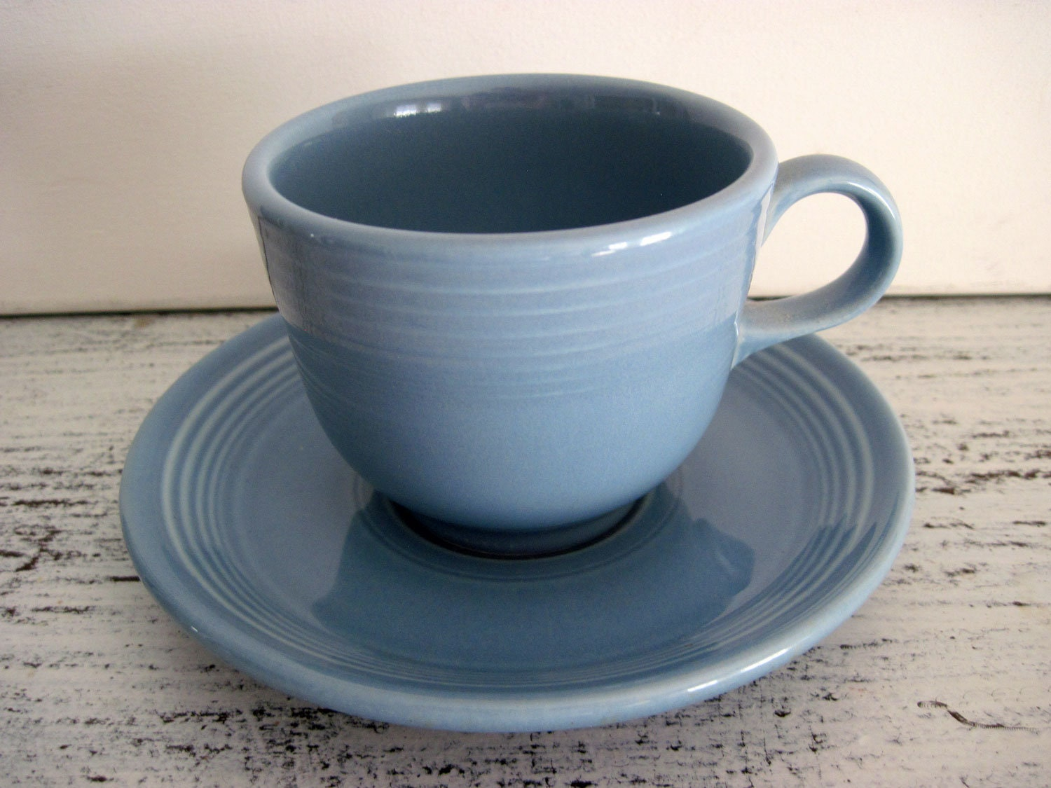Homer Laughlin Fiesta Fiestaware Tea Cup and Saucer Set Many Colors-You Choose!