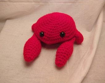 Crab, Crochet Crab, Amigurumi, Amigurumi Crab