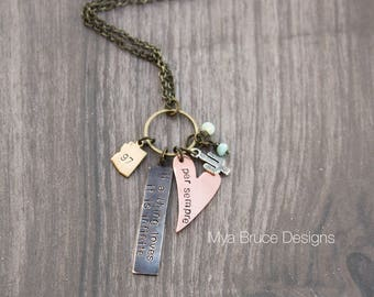 Mixed metal 2018 love design - if a thing loves it is infinite - personalized