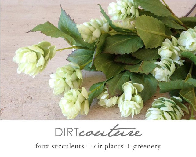 Hops silk flowers beer hops artificial plant artificial etsy image 0 mightylinksfo